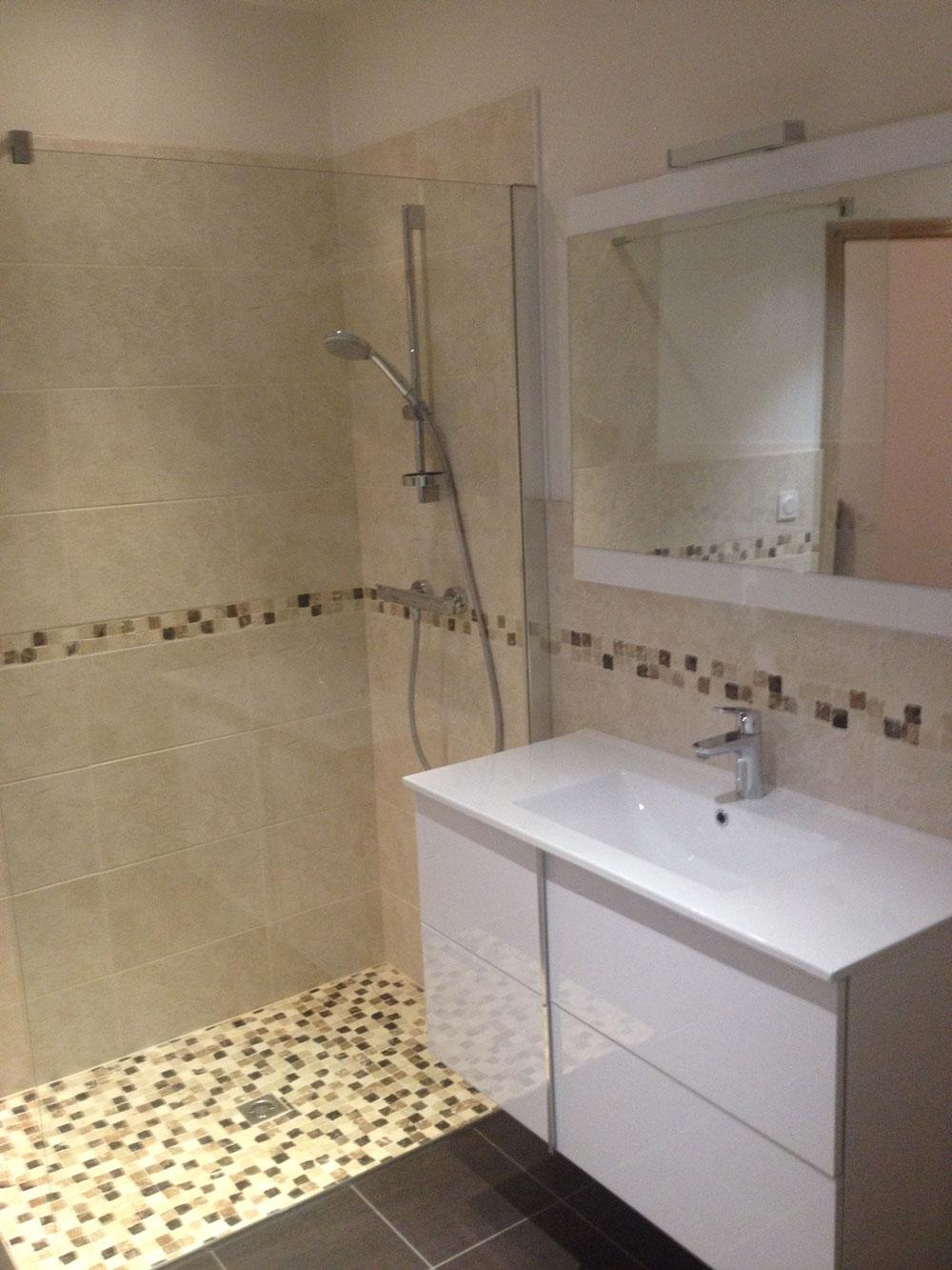 Rénovation de salle de bain ‹ plomberie diquero à limerzel dans le ...