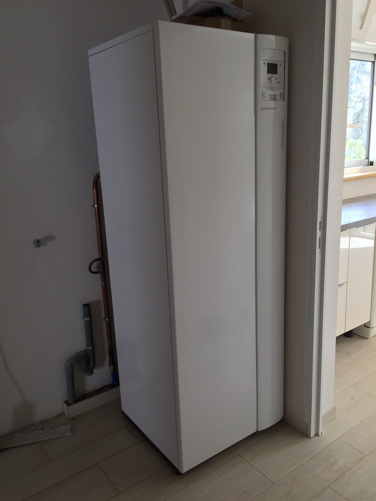A rothermie pompes chaleur plomberie diquero - Pompe a chaleur monobloc interieur ...